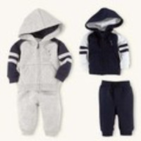SH344 Free shipping Newest Spring autumn two-Piece Kids Clothes Set Clothing polo Suit Baby Boys Clothes Hoody jacket+pants Suit - Default