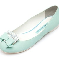 Mint Pasia Flats- Free Hair Band