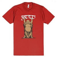 Yolo-Unisex Red T-Shirt