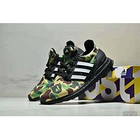 Bape x Adidas Ultra boost co-branded limited-edition casual sports running shoes