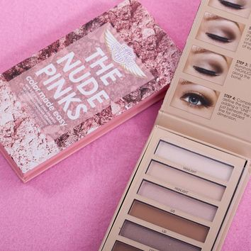 The Nude Pinks 12 Colors Eye Shadow [11885423759]