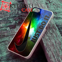 Nike Just Do it on Nebula - iPhone 4/4S, iPhone 5/5S, iPhone 5C Case and Samsung Galaxy S2 i9100, S3 i9300, S4 i9500 Case