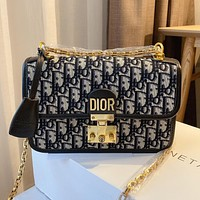 Dior crossbody bag casual trendy shoulder bag