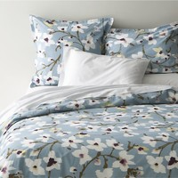 Fleur Bed Linens in All Decorative Bedding | Crate and Barrel