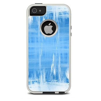 The Water Color Ice Window Skin For The iPhone 5-5s Otterbox Commuter Case