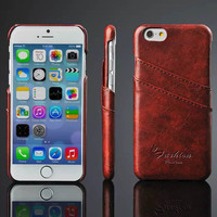 Protective Cover Leather Wallet Case for iPhone 6/6S/6 pluse/6s plus