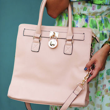 All Just The Same Purse: Blush   Hope's