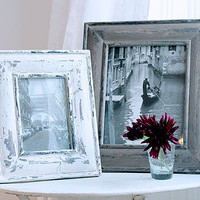 Decorative Country Living ~ Rustic wooden picture frames