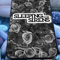 Gray Roses Band Sleeping with Sirens for iPhone 4/4s/5/5S/5C/6, Samsung S3/S4/S5 Unique Case *95*