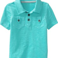 Double-Pocket Polos for Baby