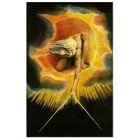 The Ancient of Days William Blake Art Poster 11x17