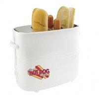 Nostalgia HDT600COKE Limited Edition Coca-Cola Pop-Up Hot Dog Toaster with Extra Large Hot Dog Cage
