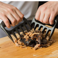 Grizzly Bear Paws Claws Meat Handler Fork Tongs Pull Shred Pork BBQ Barbecue Tool High quality food-grade BBQ tools a942