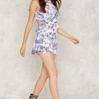 Valley of the Dolls Floral Romper