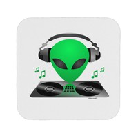 Alien DJ Coaster