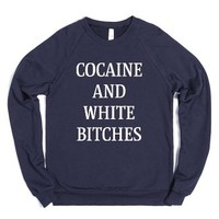 Coke and Women-Unisex Navy Sweatshirt