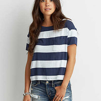 AEO Soft & Sexy Sky High T-Shirt, Indigo