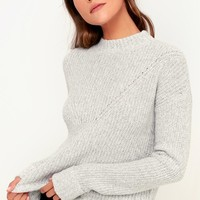Pine Grey Knit Sweater