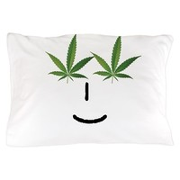 Pot Head Emote Pillow Case> The Pot Head Emote> 420 Gear Stop