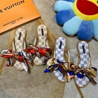 shosouvenir Louis Vuitton LV Ribbon sandals