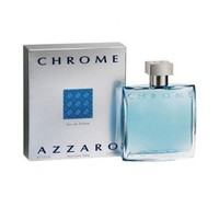 Chrome By Azzaro Mens Cologne AZZARO- EDT SPRAY  3.4 oz