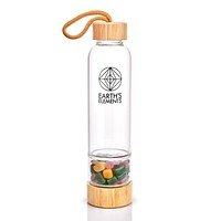Earth's Elements Crystal Bottle Sacred Healing