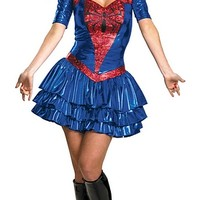 Spider Girl Sassy Deluxe Plus Size Costume | Oya Costumes