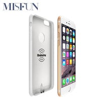 Hot Qi Standard Wireless Charger Receiver Case For Apple iPhone 6 6s Plus 5 5S SE Power Charging Mobile Phone Charger Cover