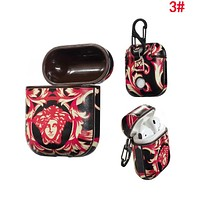VERSACE Fashion Cool AirPods Bluetooth Wireless Earphone Case Protector (No Headphones) 3#
