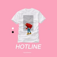 Drake Hotline Bling Video Illustration OVO Sneaker Head T Shirt