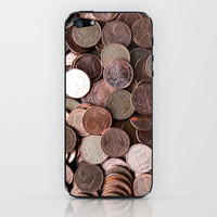 structures . money iPhone & iPod Skin by findsFUNDSTUECKE