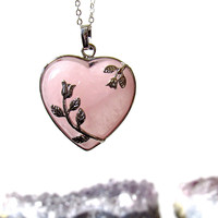 Rose Stem Necklaces by Kloica Accessories