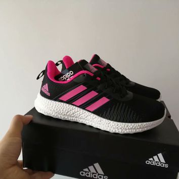 """""""Adidas"""" Fashion Casual Unisex Breathable Comfortable Fly Weave Couple Sneakers Running Shoes"""