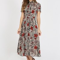 Wild About Floral Printed Dress
