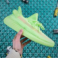 Adidas Yeezy Boost 350 V2 GID Static Spring Fluorescent Green - Best Online Sale