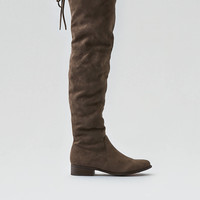 AEO Over-the-Knee Slouchy Boot, Taupe