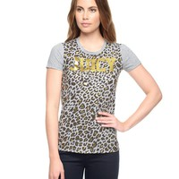 Leopard Juicy Tee by Juicy Couture