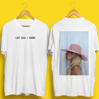 Lady Gaga Tshirt, Lady Gaga Joanne Tshirt, Lady Gaga Album Tshirt, Lady Gaga Merch, Perfect Illusion, Perfect Illusion Tshirt, Album Tshirt