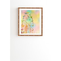 Shannon Clark Ferris Wheel Fun Framed Wall Art