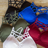 Cross My Heart Caged Bralette