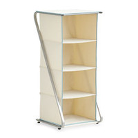 Real Simple Free-Standing 4-Cubby Closet Organizer