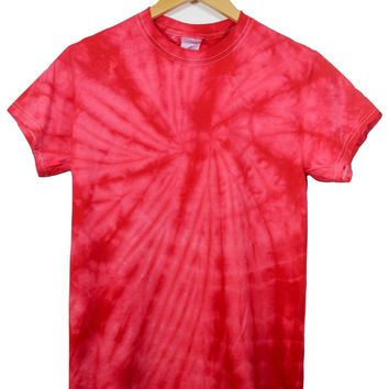 Cherry Red Tie-Dye Unisex Tee
