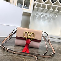 Top Quality Valentino Women Leather Tote Bag Shoulder Bag Messenger Bag Shopping Bag