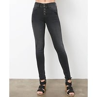 Spotlight On Dark Gray Skinny Jeans