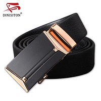 Genuine First Layer Of Leather Belt Automatic Buckle Belts Men Luxury Men Designer High Quality Strap