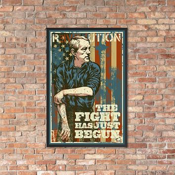 Ron Paul Revolution The Fight Has Just Begun by Dan McCall Framed Print