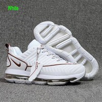Nike Air Soles Men Contrast Fashion Casual Sneakers Sport Shoes White