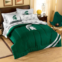 Michigan State Spartans NCAA Bed in a Bag (Contrast Series)(Full)