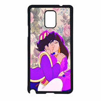 Aladin Jasmine Kissing Floral Samsung Galaxy Note 4 Case
