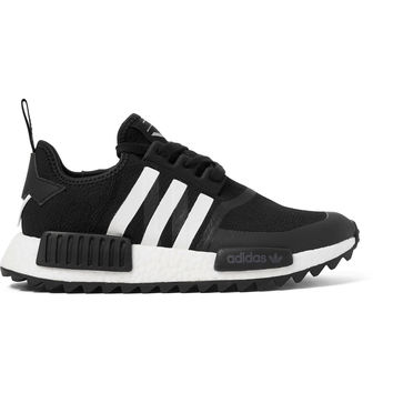 adidas Originals - + White Mountaineering NMD TRAIL Rubber-Trimmed Primeknit Sneakers